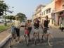 A bicyclette! De Kompong Cham à Kratie.